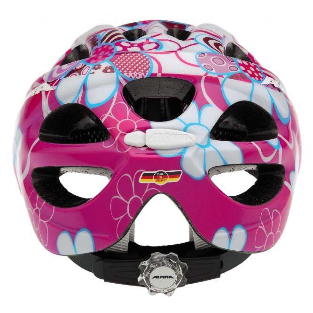 alpina rocky kinder helm pink lightblue flowers 49 94. Black Bedroom Furniture Sets. Home Design Ideas