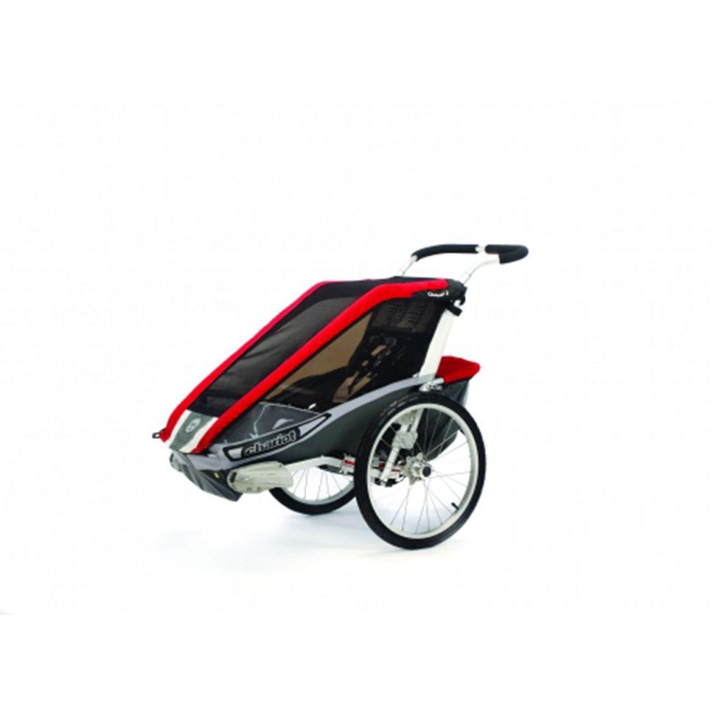 thule chariot cougar1 kinderanh nger fahrradset rot 799. Black Bedroom Furniture Sets. Home Design Ideas