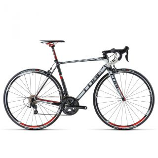 Cube Agree GTC SL Rennrad 28 compact carbon�n�white�n�red