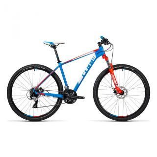 Cube Aim Pro MTB-Hardtail 27,5 blue�n�flashred