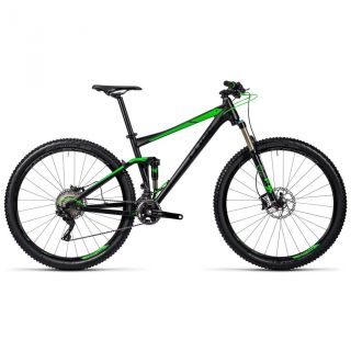 Cube Stereo 120 HPA SL MTB-Fully 29 black�n�green