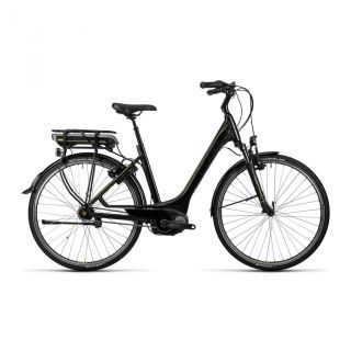 Cube Travel Hybrid RT 400 E-Bike Wave 28 black�n�lime