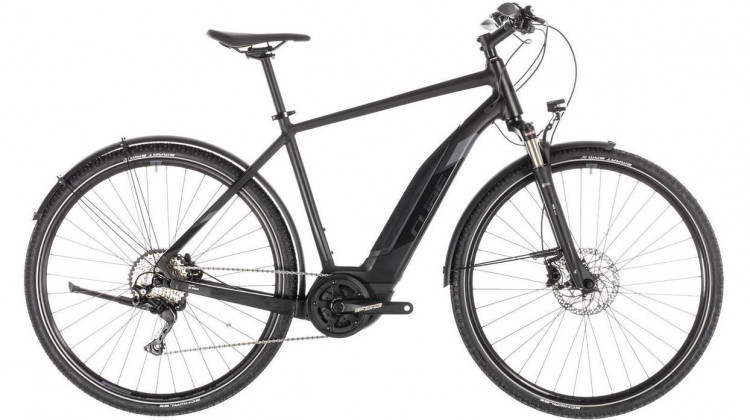 Cube Cross Hybrid EXC 500 Allroad E-Bike 28 black´n´grey 54 cm 2019
