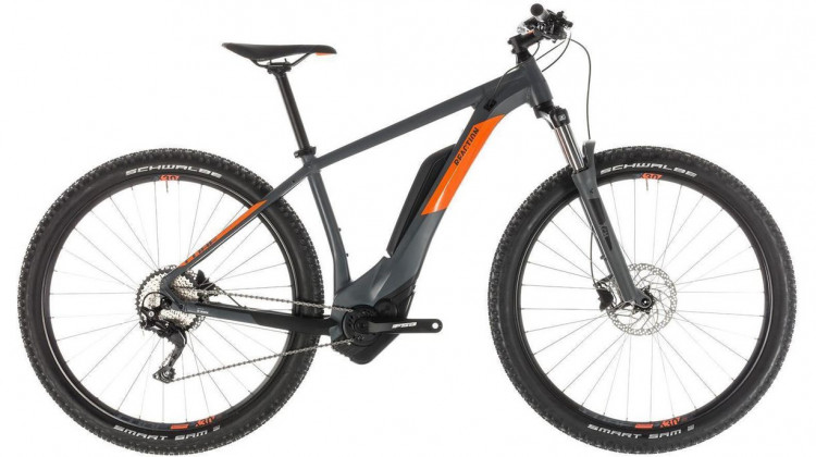 Cube Reaction Hybrid Pro 500 E-Bike 29 grey´n´orange 19 2019
