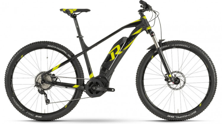 Raymon E-Nineray 6.0 E-Bike 29 black/black/yellow 50 cm 2019
