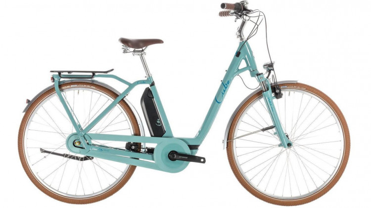 Cube Elly Cruise Hybrid 400 E-Bike 28 Easy Entry pistachio´n´blue 46 cm 2019