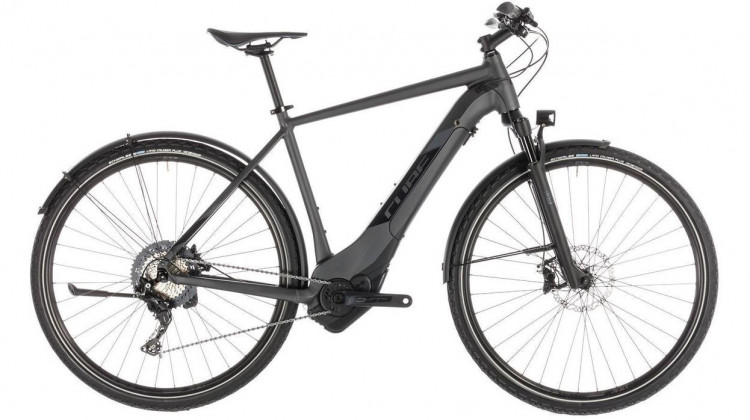 Cube Cross Hybrid SL 500 Allroad E-Bike 28 iridium´n´black 2019