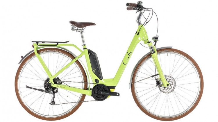 Cube Elly Ride Hybrid 400 E-Bike 28 Easy Entry green´n´black 50 cm 2019