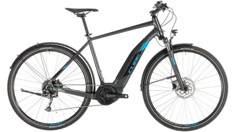 Cube Cross Hybrid ONE 400 Allroad E-Bike 28 iridium´n´blue 50 cm 2019