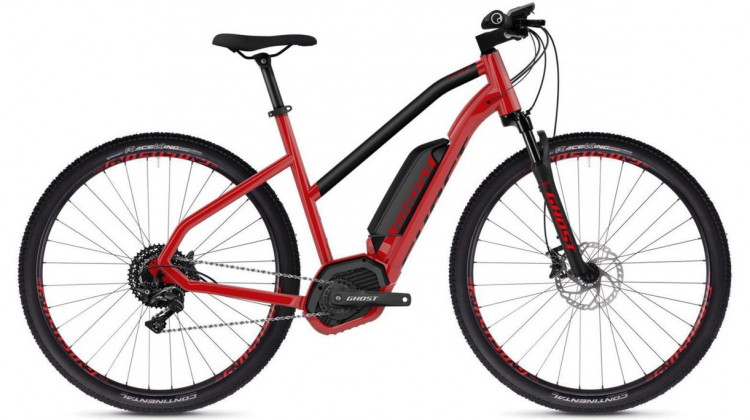 Ghost Hybride Square Cross B4.9 AL W E-Bike 29 Trapez riot red/jet black S 2019