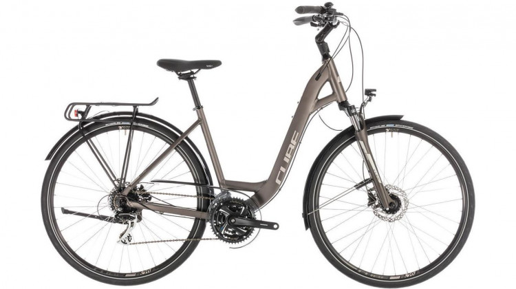 Cube Touring Pro Trekkingrad  28 Easy Entry brown´n´silver 2019