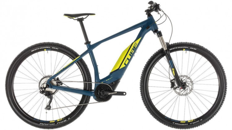 Cube Acid Hybrid Pro 400 E-Bike 29 darkblue´n´lime 2019
