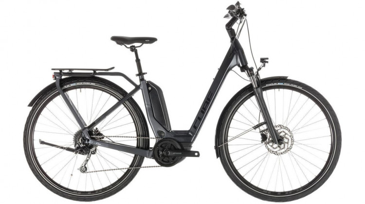 Cube Touring Hybrid 500 E-Bike 28 Easy Entry iridium´n´black 50 cm 2019