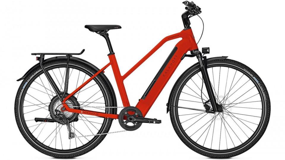 kalkhoff endeavour excite n11 e bike 28 trapez firered. Black Bedroom Furniture Sets. Home Design Ideas
