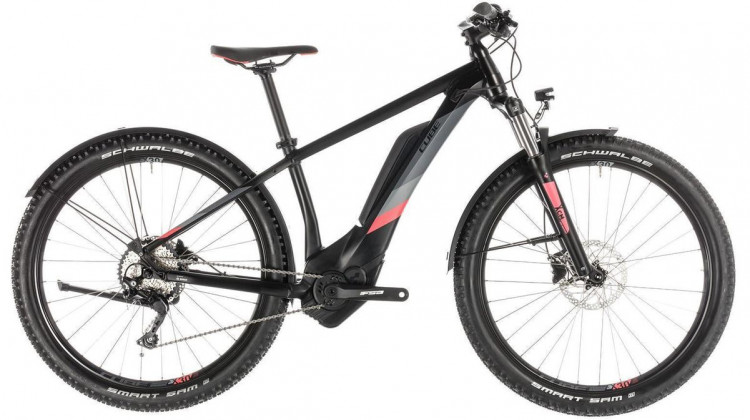 Cube Access Hybrid Pro 500 Allroad E-Bike 29 black´n´coral 2019