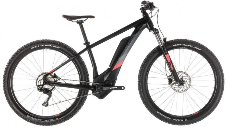 Cube Access Hybrid Pro 500 E-Bike 27,5 black´n´coral 14 2019