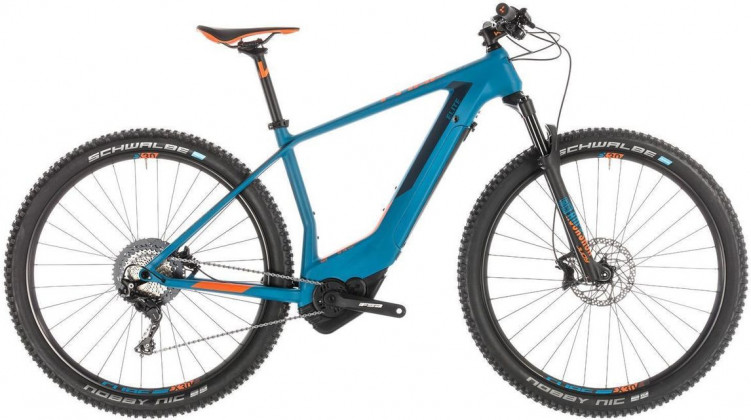 Cube Elite Hybrid C:62 Race 500 E-Bike 29 blue´n´orange 2019