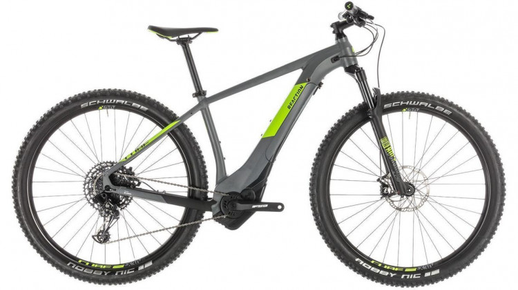 Cube Reaction Hybrid EAGLE 500 E-Bike 29 grey´n´green 2019