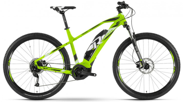 Raymon E-Nineray 4.5 E-Bike 29 green/white/black 45 cm 2019