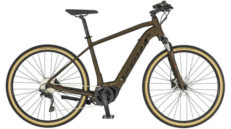 Scott Sub Cross eRide 20 Men E-Bike 28 Herren bronze/black/red M 2019