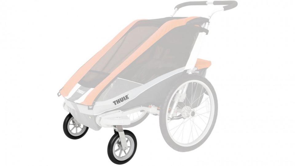 thule chariot buggy set f r kinderanh nger die fahrrad. Black Bedroom Furniture Sets. Home Design Ideas