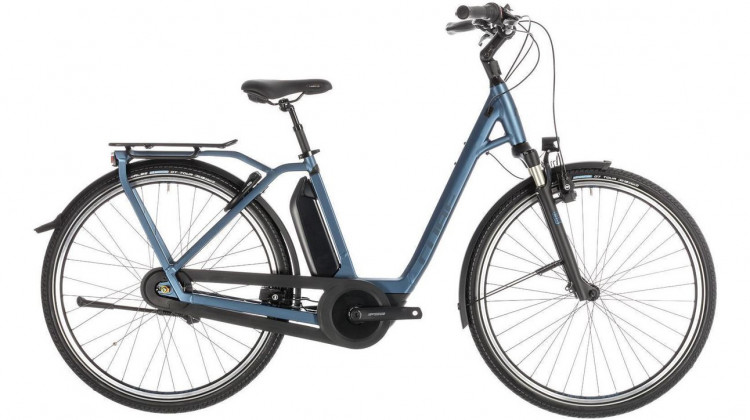 Cube Town Hybrid EXC 500 E-Bike 28 Easy Entry blue´n´blue 46 cm 2019