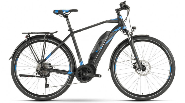 Raymon E-Tourray 5.0 E-Bike 28 Diamant black/dark grey/blue 52 cm 2019