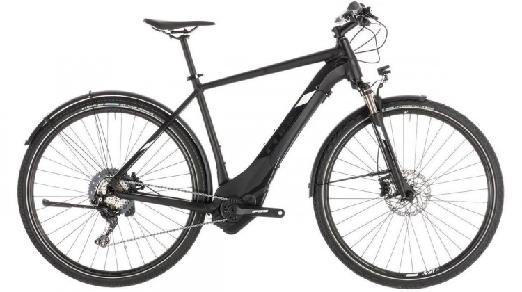 Cube Cross Hybrid Race 500 Allroad E-Bike 28 black´n´white 62 cm 2019
