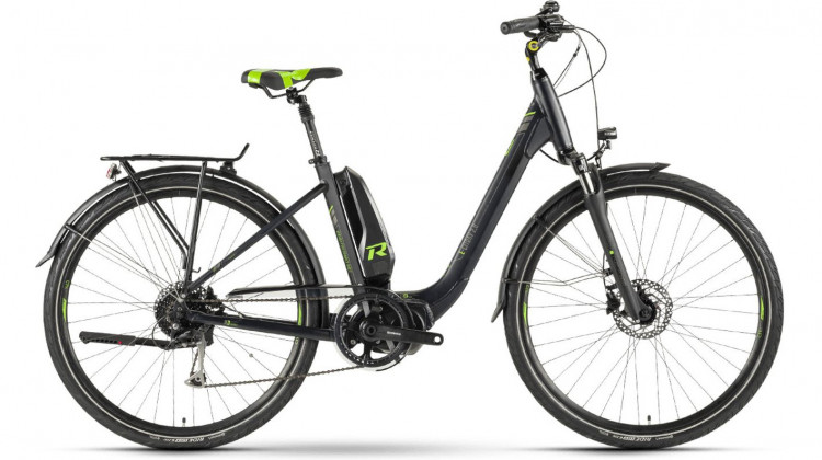 Raymon E-Citray 2.0 E-Bike 26 Wave black/green 46 cm 2019